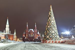 arvore de natal na russia