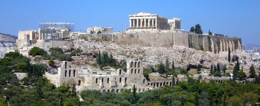 Do Templo de Zeus ao Parthenon: os principais roteiros na cidade de Atenas